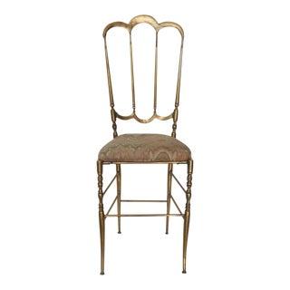Chiavari Italian Brass Chair