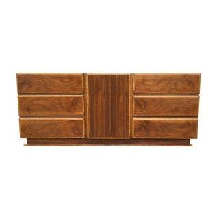 1960's Lane Modern 9 Drawer Dresser