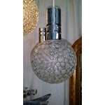 Image of Mid-Century Abstract Murano Globe Pendant Light