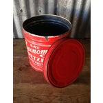 Image of Vintage Eat Economy Pretzels Container
