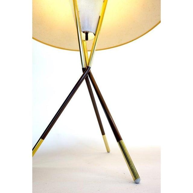 Gerald Thurston Lightolier Tripod Lamps - A Pair - Image 3 of 6