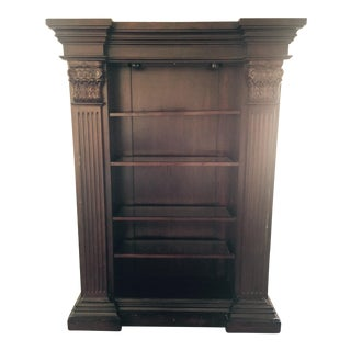 Traditional Lighted Bookcase