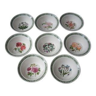 Portmeirion Floral Cereal Bowls - Set of 8