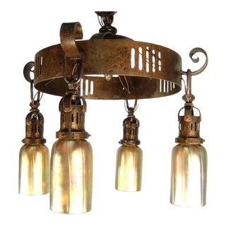 Arts & Crafts Ring Light Fixture