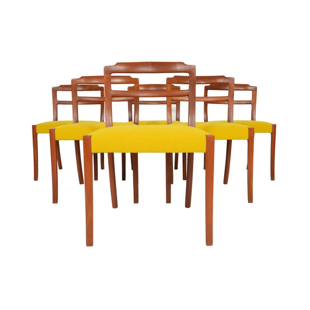 Ole Wanscher Teak Dining Chairs - Set of 6 - Image 2 of 8