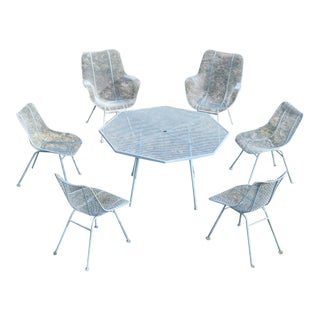 Russell Woodard 'Sculptura' Patio Dining Set