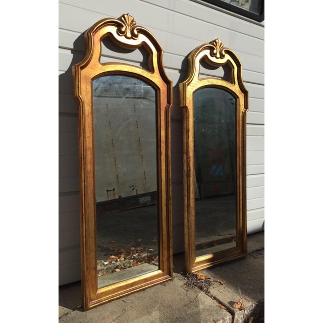 Image of Vintage Gold Mirrors- A Pair