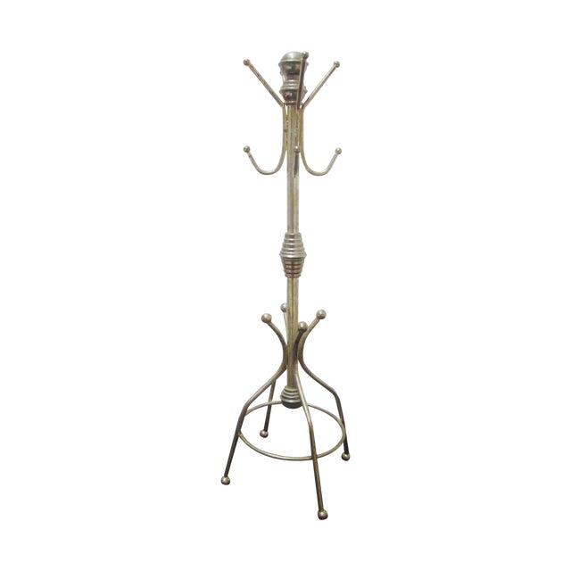 Vintage Brass Hat Rack - Image 1 of 5