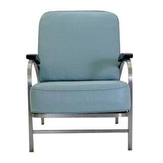 Retro Vintage Art Deco Design Lounge Chair