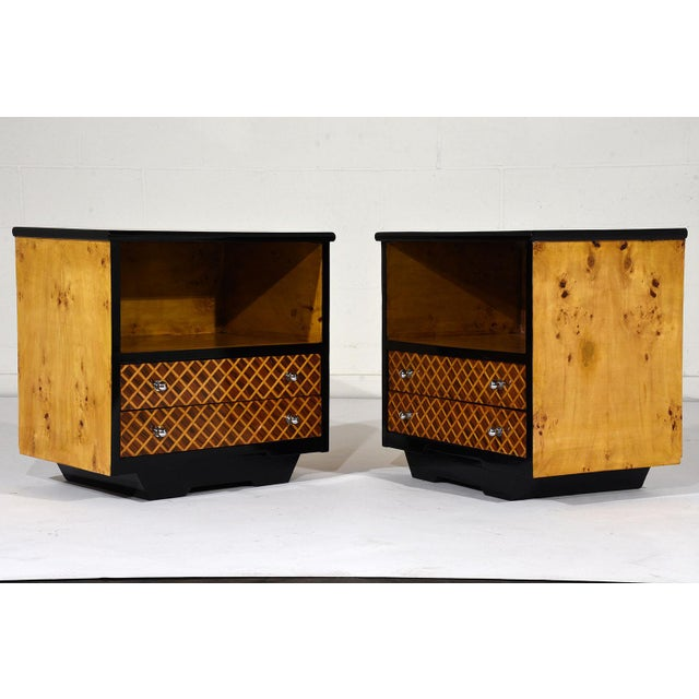 Pair of Mid-Century Modern Nightstands or Side Tables - Image 2 of 10