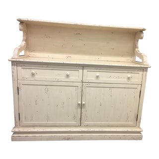Rustic Country Server Cabinet