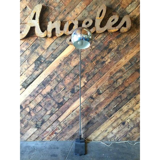Vintage Arc Chrome Floor Lamp - Image 2 of 4