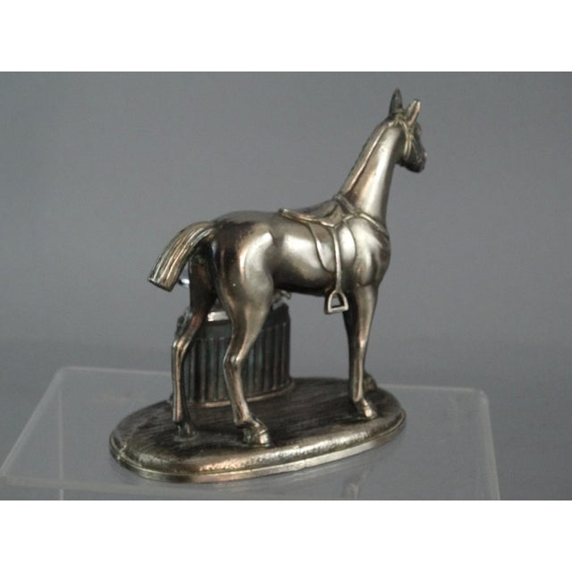 Equestrian Horse Table Lighter - Image 5 of 9