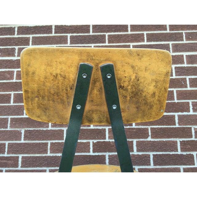 Vintage Industrial Stool - Image 8 of 9