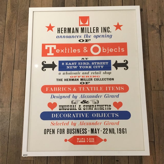 Herman Miller Textiles & Objects Print - Image 2 of 4