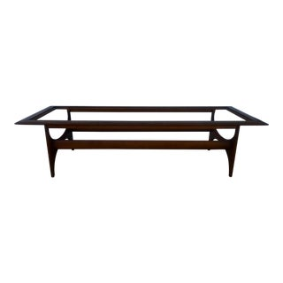 Vintage Pearsall Style Lane Coffee Table