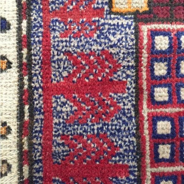 Sumack Handmade Persian Rug - 2′10″ × 4′7″ - Image 10 of 11