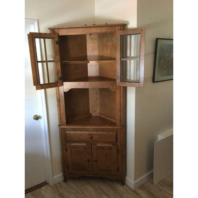 Canadel Solid Birch Kitchen Corner Hutch - Image 7 of 8