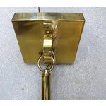 Image of Mid-Century Modern Brass Pendant Fixture