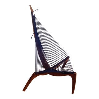 Jorgen Hovelskov Style Handcrafted 'Harp' Chair