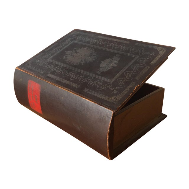 Image of War and Peace Faux Book Large Keepsake Box