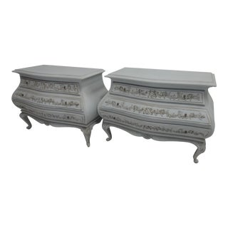 Carved Swedish Rococo Chest