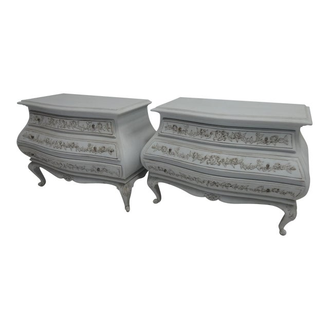 Carved Swedish Rococo Chest - Image 1 of 5