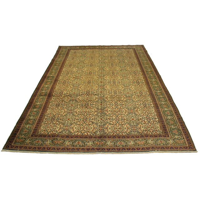 "Image of Vintage Kayseri Carpet - 6'7"" x 9'7"""
