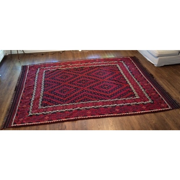 """Hand Woven Morocaan Inspired Rug - 8'6"""" x 11'8"""" - Image 2 of 6"""