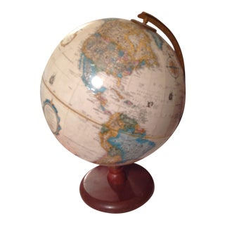Vintage Wood Based Medium Size Globe