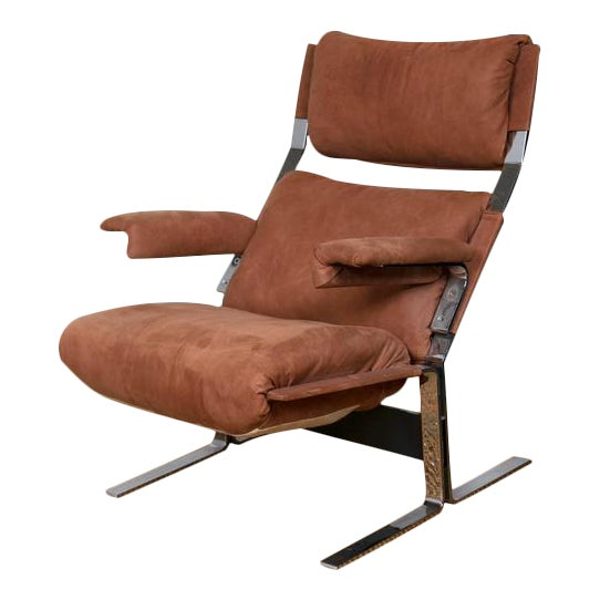 Richard Hersberger for Pace Lounge Chair & Ottoman - Image 1 of 9
