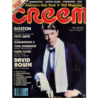 Vintage Creem Magazine Featuring David Bowie