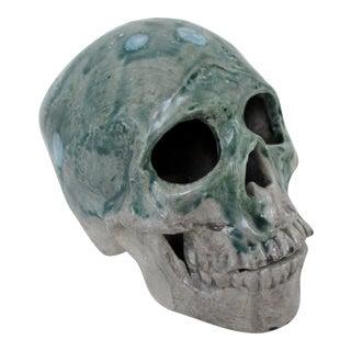 Handmade Ceramic Skull