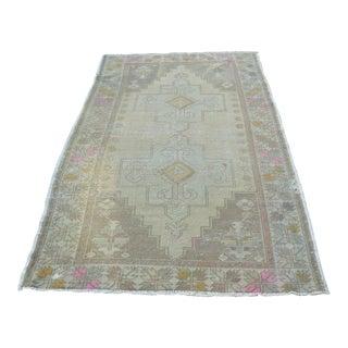 Turkish Tribal Floor Rug - 4′6″ × 7′6″