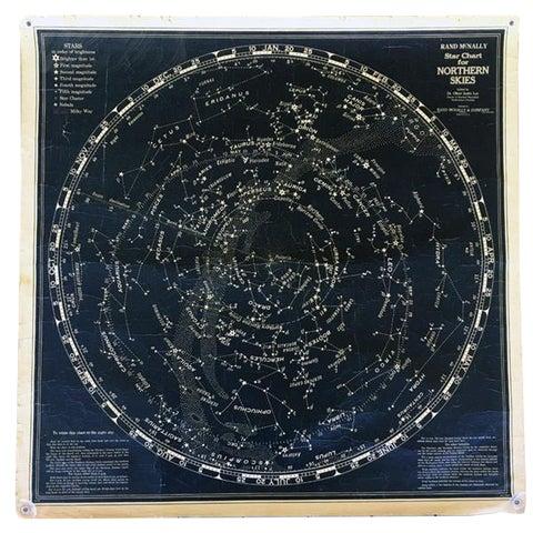 Image of Vintage Rand McNally Star Classroom Chart