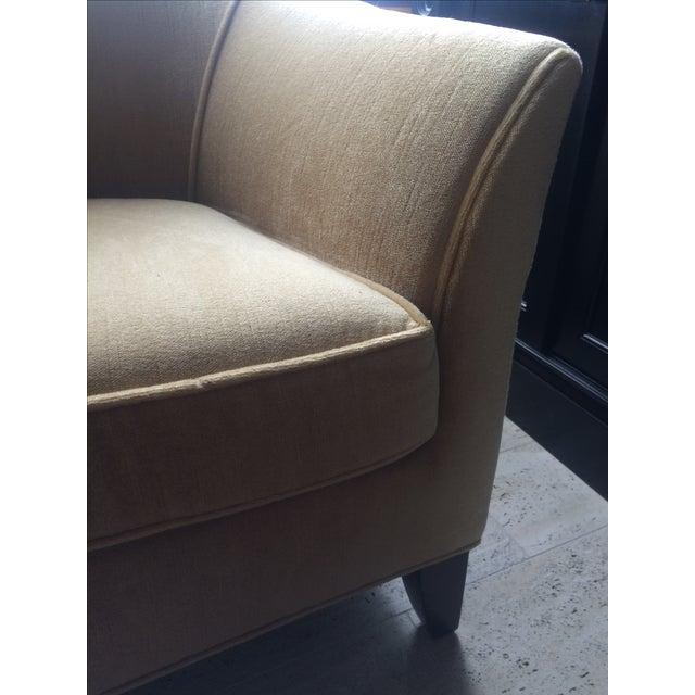 Todd Hase Neutral Teddy Silk Mohair Sofa - Image 2 of 5