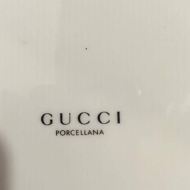 Gucci Porcellana Chair Plate - Image 6 of 6