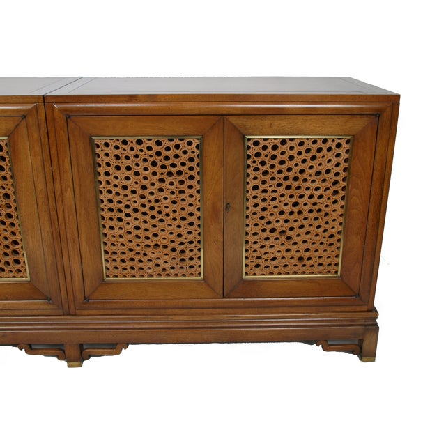 Signed Pierre Bartet Walnut Bar Cabinet - Image 5 of 11