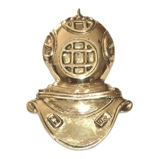Brass Diving Helmet Door Knocker