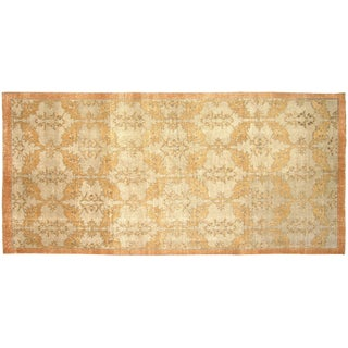 "Turkish Art Deco Rug - 4'6"" x 9'6"""