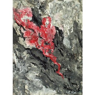 """Volcanic"" Original Abstract Painting"