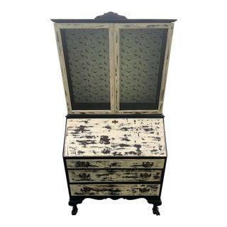 Vintage Shabby Chic Secretary Desk