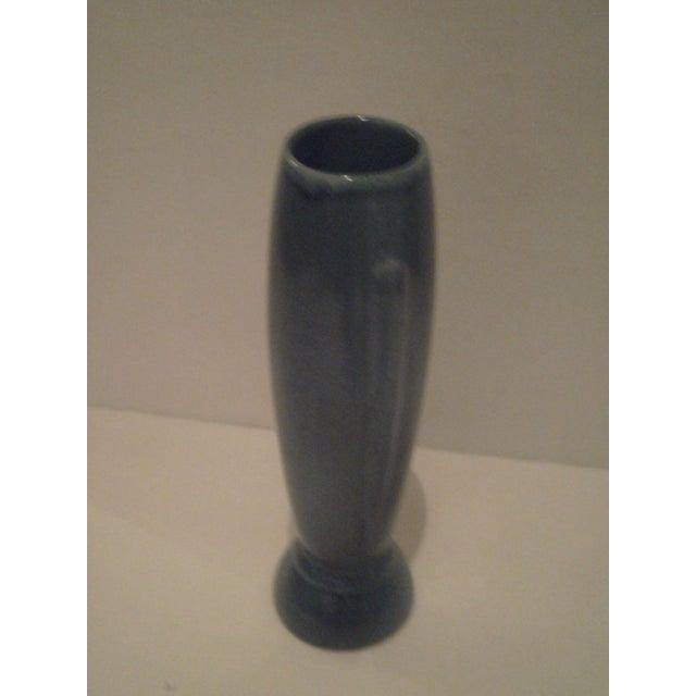 Vintage Blue Frankoma Vase - Image 8 of 9