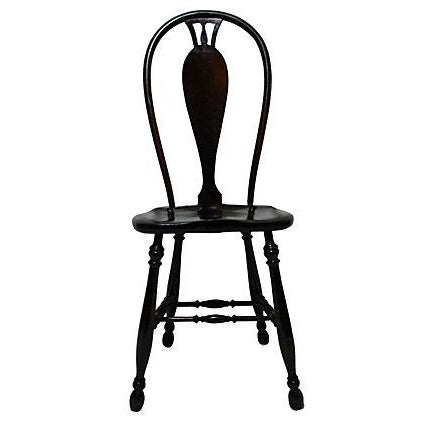 19th Century Bow Back Chair - Image 1 of 5