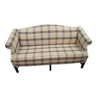 Paul Robert Chippendale Style Camelback Sofa