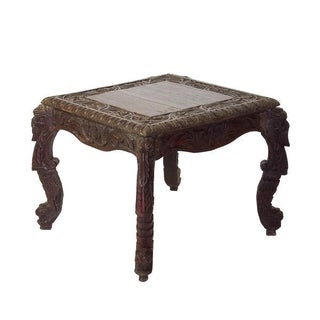 Classic Carved Occasional Table