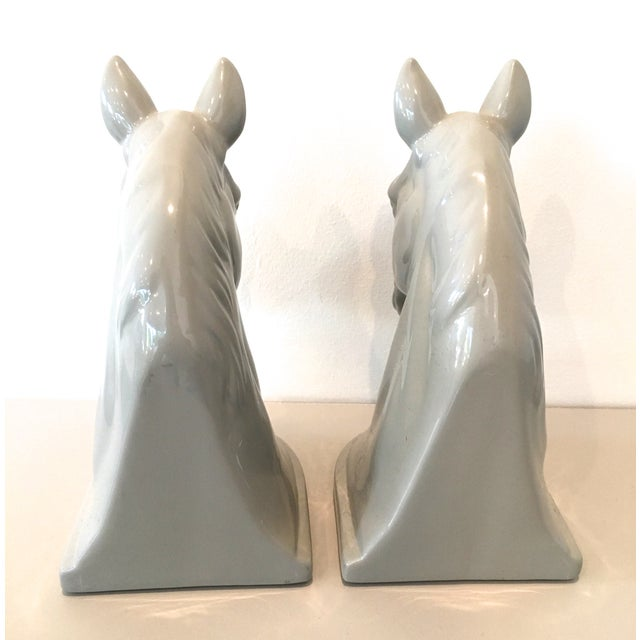 Mid-Century Horse Head Bookends - A Pair - Image 3 of 5
