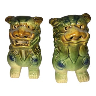 Chinese Foo Dogs - A Pair