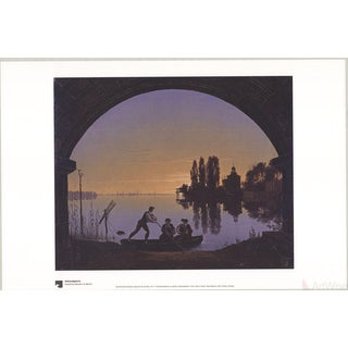 "Karl Friedrich Schinkel ""Spree River Bank Near Stralau"" Poster"