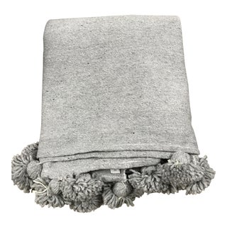 Grey Abanja Kesh Bed Cover